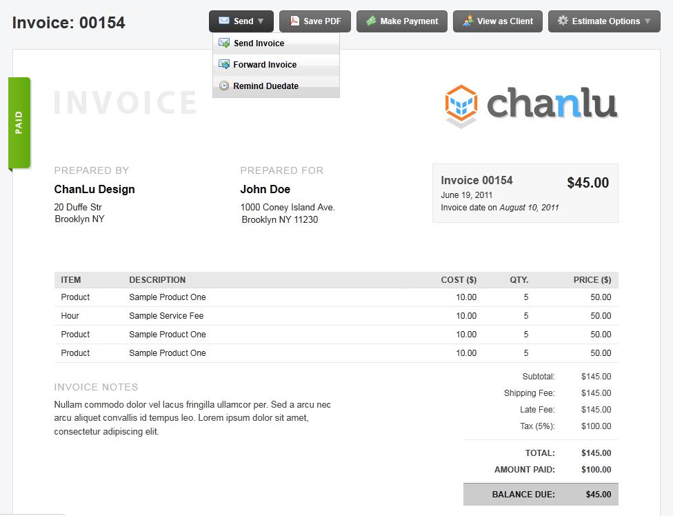 billgrid com tour navigate your finances online billing invoicing and expense management