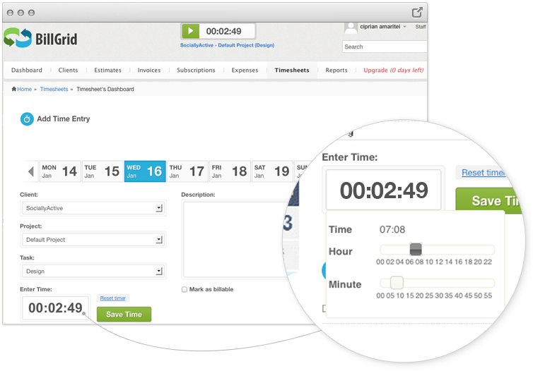 Intuitive Time Tracking